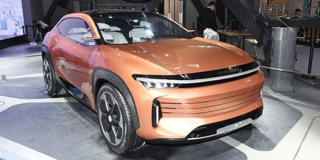 Started sales of the new luxury crossover from Chery