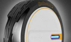 Continental has developed a tyre with automatic paging on the go