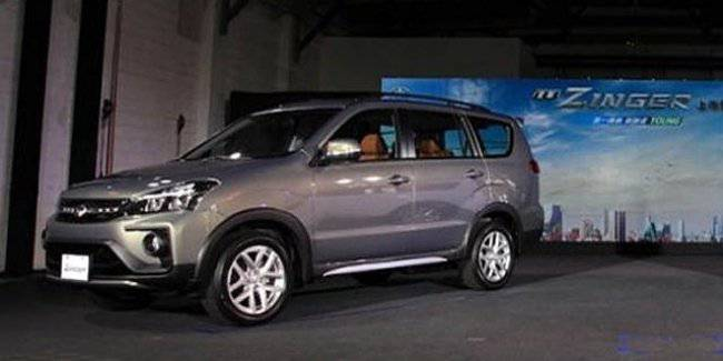 Mitsubishi presented a new framed van Zinger on the basis of the Pajero Sport