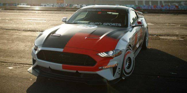 Presented 710-horsepower version of the Ford Mustang GT for SEMA show