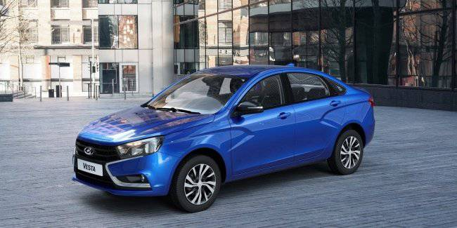 Updated Lada Vesta: the Renault engine and CVT