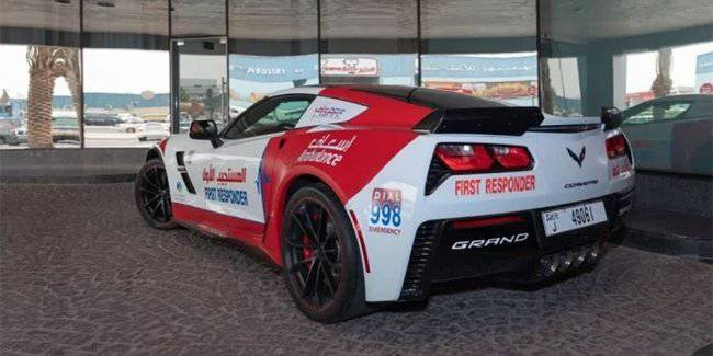 Fleet ambulance of Dubai gained supercars