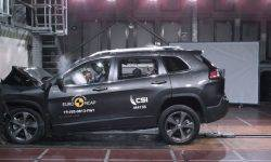 Video: crash test broke 4 new industry