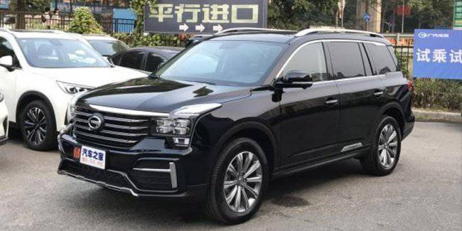 The Chinese showed the updated GAC Trumpchi SUV GS8