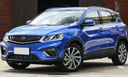 In Minsk presented the crossover Geely SX11 and the sedan Geely GE