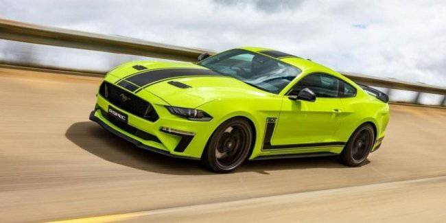Ford created sparsely the Mustangs with a record capacity