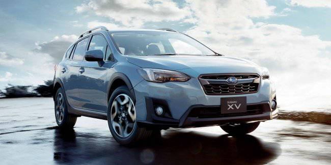 Subaru has updated the crossover Impreza XV after