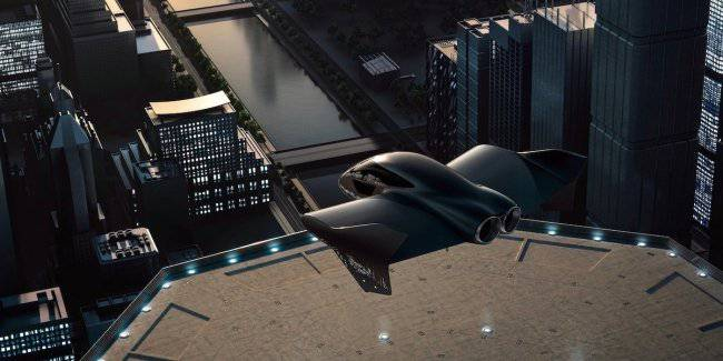 Porsche and Boeing decided to unite to create a premium flying transport