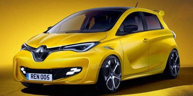 Electric Renault ZOE RS will come to replace the Clio RS