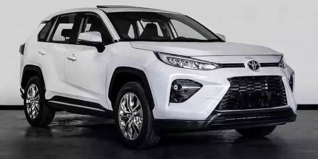 In the Network appeared photos of the new crossover Toyota RAV4 at the base Wildlander