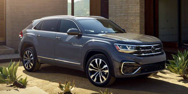Volkswagen Atlas received a version of the Cross Sport
