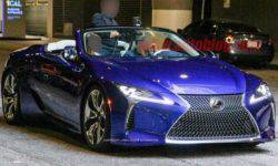 """In the network of """"declassified"""" serial variation of the convertible Lexus LC"""