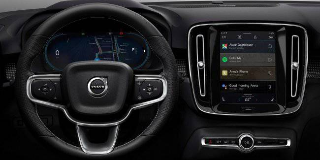 Electric Volvo XC40 will get an entertainment system based on Android with built-in Google technologies