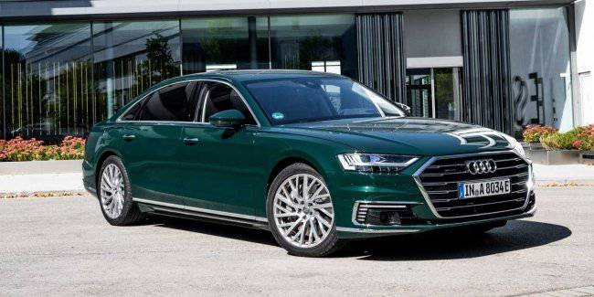 Audi presents a new modification of the Audi A8 L