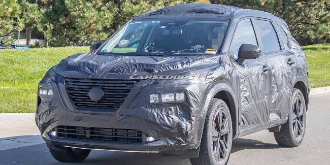 In a Network there were new photos of Nissan X-Trail next generation
