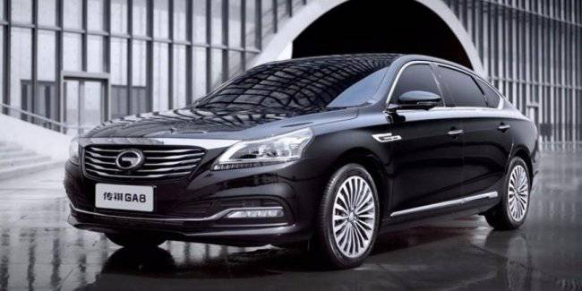 GAC presented the updated flagship sedan GA8