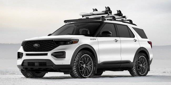 Ford showed eight special model for the Escape, Explorer and Expedition