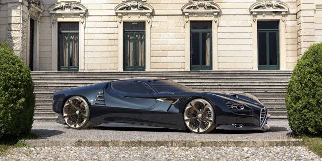 Alfa Romeo demonstrated a prototype Montreal Vision GT
