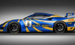 Saleen showed mid-engine sports car for racing