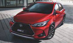 Toyota introduced the cross version of its affordable hatchback Yaris