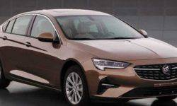 There were photos of the updated sedan Buick Regal