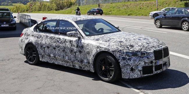 Photospin filmed the new BMW M3 on the line