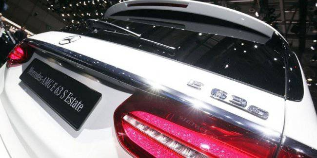 Mercedes-Benz recalls cars E-Class and E63 AMG S by the spoiler