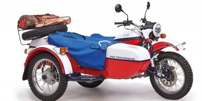 Ural decided to bring buyers a bundle of firewood