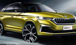 Skoda revealed the exterior serial coupe-crossover