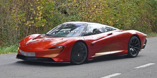 The fastest car McLaren spotted on public roads