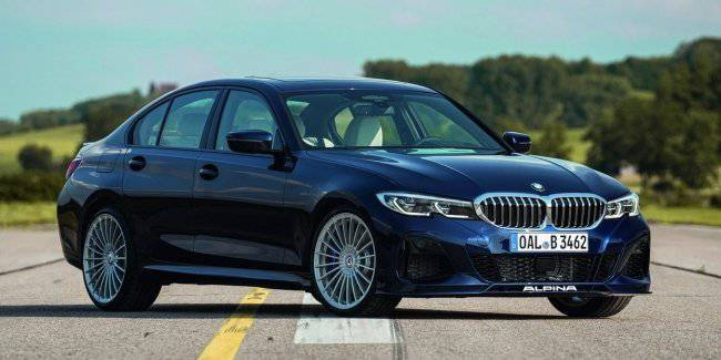 New Alpina B3 presented at the motor show in Tokyo