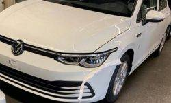 In the Network published photos of the new Volkswagen Golf