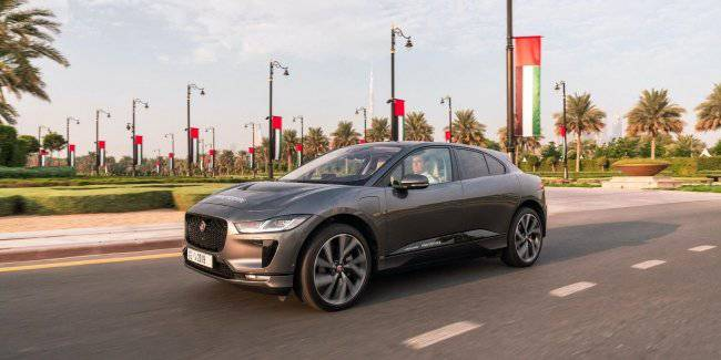 Jaguar introduced the unmanned vehicle on the basis of I-Pace