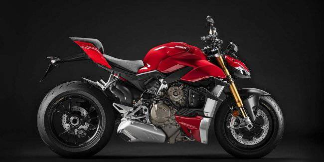 Ducati introduced the Streetfighter supermaket V4