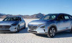 Hyundai has set a speed record for hybrids and hydrogen vehicles
