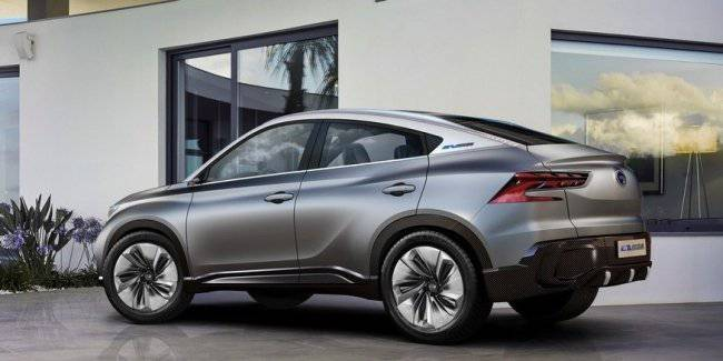 GAC caught the fashion for cross-coupe