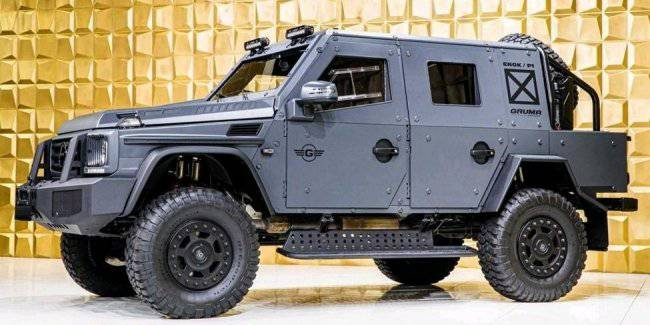 Armored Mercedes-Benz G-Class W463 on sale
