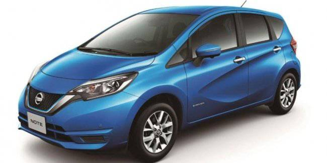 Nissan announced the beginning of sales of a special version of the hatchback Nissan Note