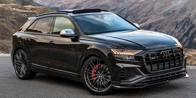 Studio ABT prepared a tuning package for the flagship SUV Audi SQ8