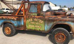 "A copy of the tow from the cartoon ""Cars"" was put up for sale"