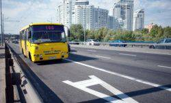 The police of Kiev began to massively fined for entering on the strip of public transport
