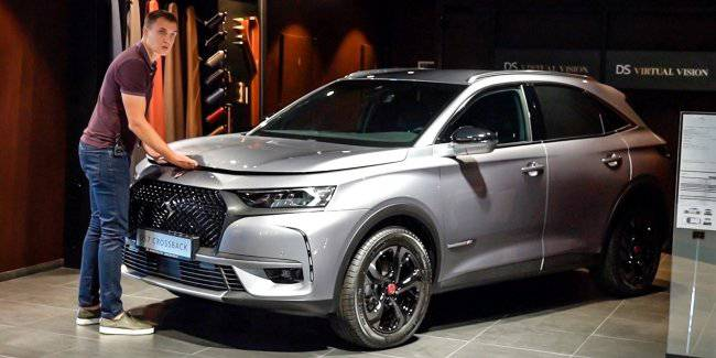 DS 7 Crossback. You need to see this!