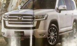 There are new details Toyota Land Cruiser new generation