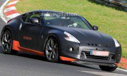 The prototype Nissan 370Z went to trial