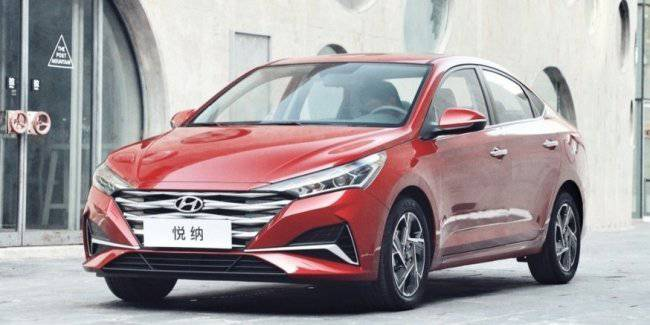 New Hyundai Accent: now with one motor, instead of 6АКП – CVT