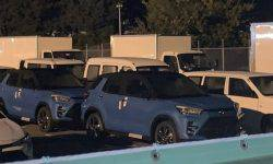 Toyota is preparing for the premiere of a small SUV