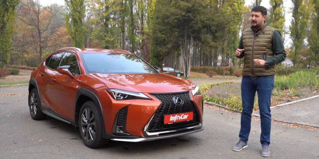 Lexus UX – pumped C-HR for the majors?