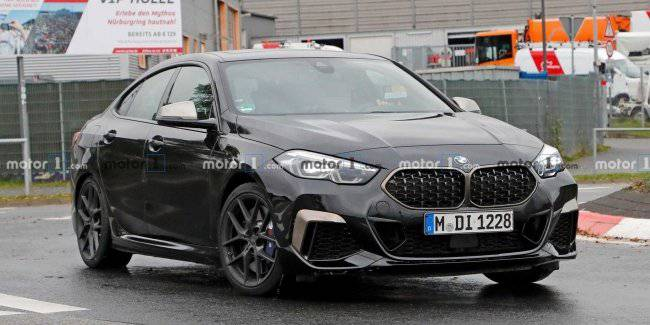 The BMW with front-wheel drive will not be M-versions