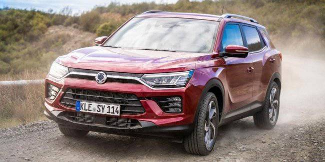 Electricross SsangYong Korando will be more powerful than the petrol version