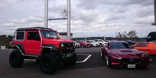 Japanese students made a mad tuning Suzuki Jimny 2019